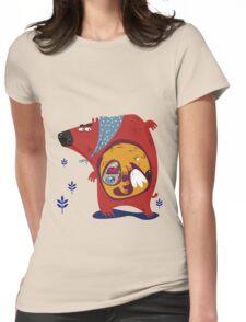 Matryoshka Womens Fitted T-Shirt