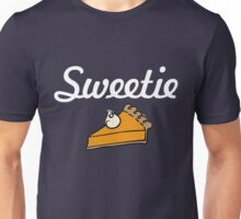 Sweetie Pie Cute Thanksgiving Meal Unisex T-Shirt