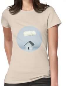 A cloud over the house Womens Fitted T-Shirt