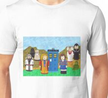 6th Doctor and his companion Peri Unisex T-Shirt