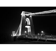 Bristol City Centre @ Night Photographic Print
