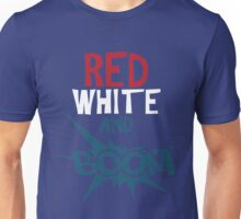 Red White & Boom Cute 4th Of July Unisex T-Shirt