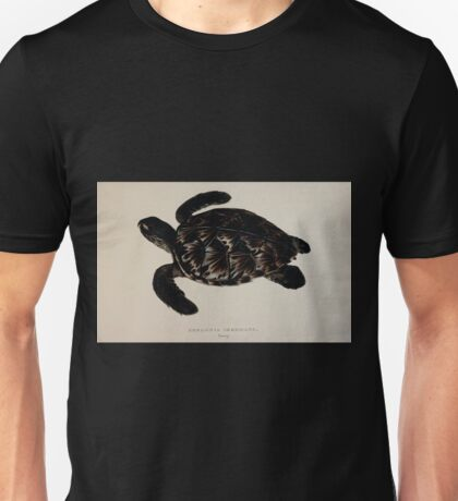 Tortoises terrapins and turtles drawn from life by James de Carle Sowerby and Edward Lear 057 Unisex T-Shirt