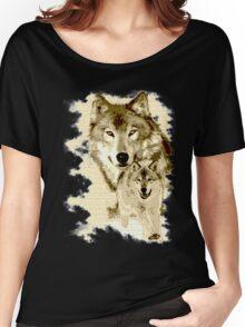 Wolf of Alaska Women's Relaxed Fit T-Shirt