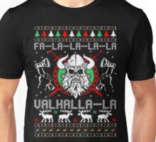 Falalala valhalla la ugly christmas sweater Unisex T-Shirt
