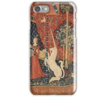 The Lady and the Unicorn: À Mon Seul Désir iPhone Case/Skin
