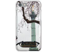 Place de la Bastille iPhone Case/Skin