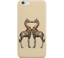 Giraffes In Love iPhone Case/Skin
