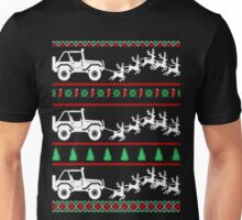 Jeep ugly christmas sweater Unisex T-Shirt