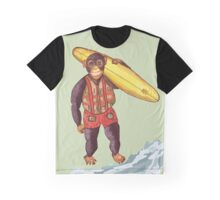 Chimp Surfing 2 Graphic T-Shirt