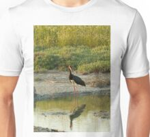 Black Stork on Lesvos Unisex T-Shirt