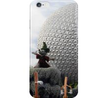 Sorcerer Mickey at Spaceship Earth iPhone Case/Skin