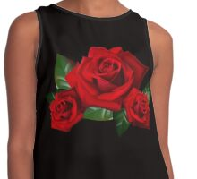 High Definition Thee Roses Contrast Tank