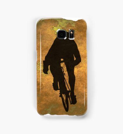 Cycling Sprinter on Belgian Flag Samsung Galaxy Case/Skin
