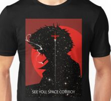 "Cowboy Bebop ""See you Space Cowboy"" (Spike Spiegel) Unisex T-Shirt"