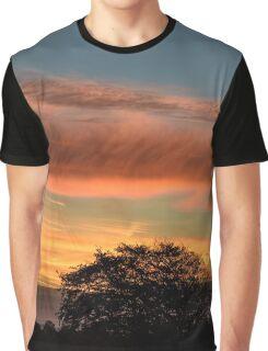 Early Morning Sky, County Kilkenny, Ireland Graphic T-Shirt