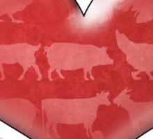 Vegan For Life Sticker