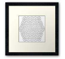Geometric Mandala  Framed Print
