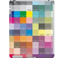 CMYK Scale iPad Case/Skin