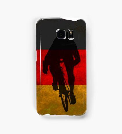 Cycling Sprinter on German Flag Samsung Galaxy Case/Skin