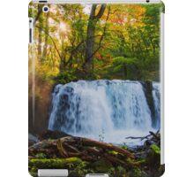 Choshi-otaki Falls at sunset iPad Case/Skin