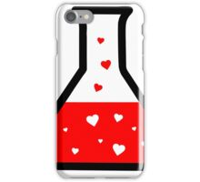 Love Potion (Science) iPhone Case/Skin