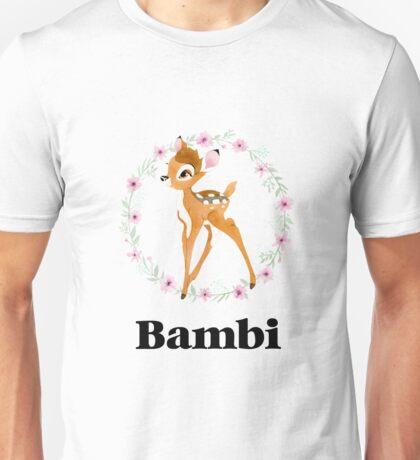 Bambi - Black Unisex T-Shirt