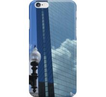 Clouds Reflect off the John Hancock Tower iPhone Case/Skin