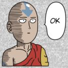 One Punch Aang by PlatinumBastard
