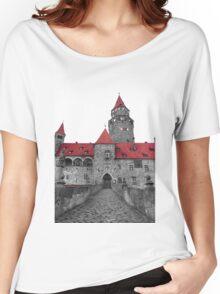 Bouzov Castle Women's Relaxed Fit T-Shirt