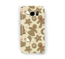 Christmas cookies Samsung Galaxy Case/Skin