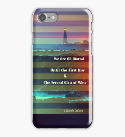 We Are All Mortal  iPhone Case/Skin