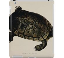 Tortoises terrapins and turtles drawn from life by James de Carle Sowerby and Edward Lear 043 iPad Case/Skin