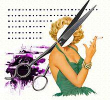 big scissors by Susan Ringler