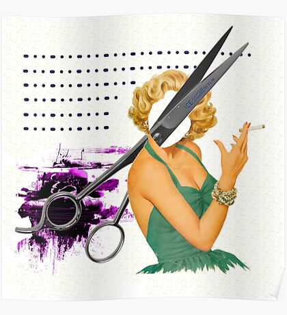 big scissors Poster