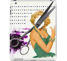 big scissors iPad Case/Skin