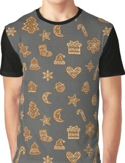 Gingerbread christmas cookies Graphic T-Shirt
