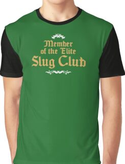 Slug Club Member logo Graphic T-Shirt