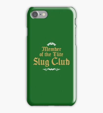 Slug Club Member logo iPhone Case/Skin