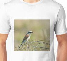 Red-backed Shrike on Lesvos Unisex T-Shirt