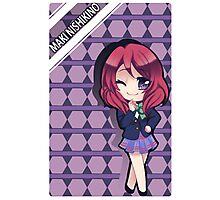 school girl anime chibi Photographic Print