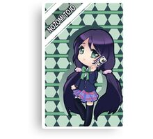 card reader anime chibi Canvas Print