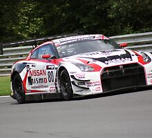 Hoy and Mardenborough - Nissan GTR  by Matt Dean