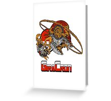 Giracron double form Greeting Card