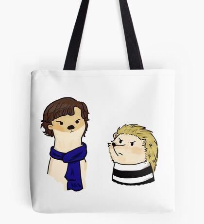 Otterlock and Hedgejohn Tote Bag