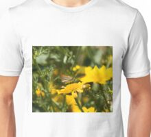 Small Skipper Butterfly on Lesvos Unisex T-Shirt