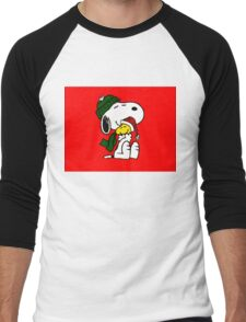 SNOOPY CHRISTMAS 11 Men's Baseball ¾ T-Shirt