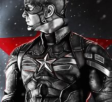 Captain America  by p1xer