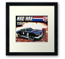 Mad Max Meets G.I. Joe Framed Print