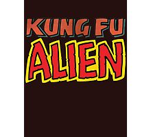 kung fu alien Photographic Print